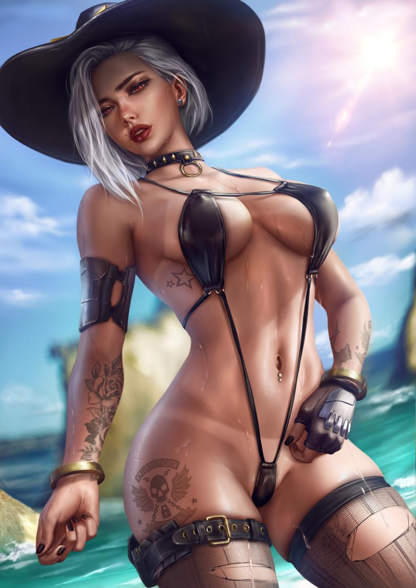 logan cure artist ashe overwatch overwatch